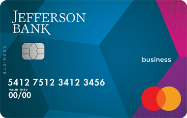 Jefferson Bank Small Business Credit Card